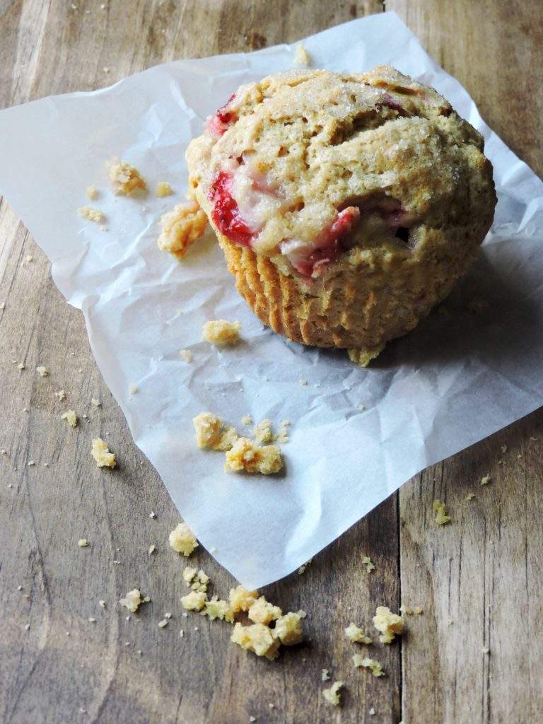 Today Food Club and Strawberry Lemon Muffins