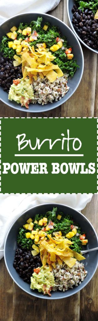Burrito Power Bowls