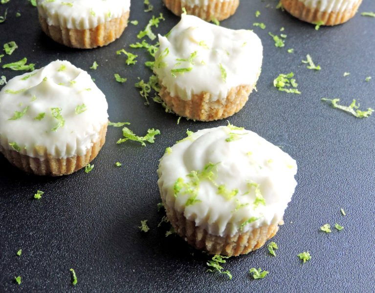 Vegan Key Lime Pie Bites