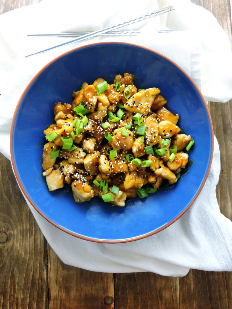 5 Ingredient Healthier Orange Chicken