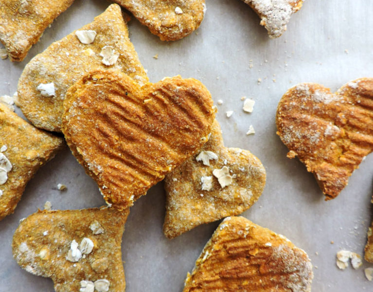 3 Ingredient Pumpkin Pup Treats