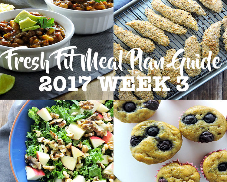 Fresh Fit Meal Plan Guide Week 3