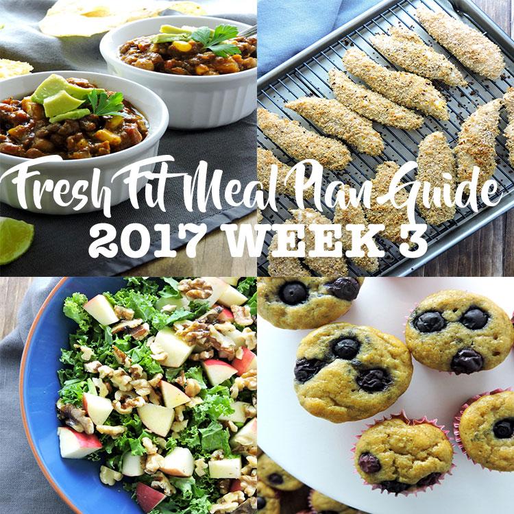 Fresh Fit Meal Plan Guide Week 3