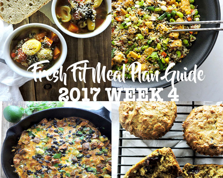Fresh Fit Meal Plan Guide Week 4