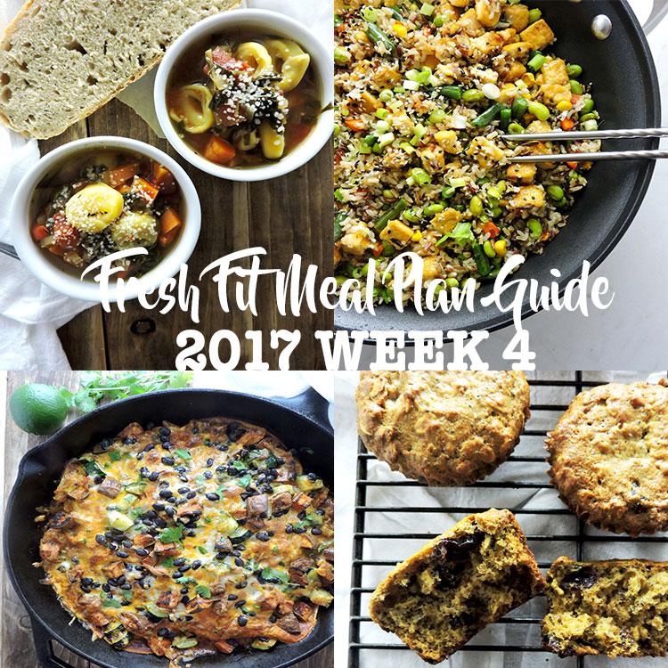 Fresh Fit Meal Plan Guide Week 4
