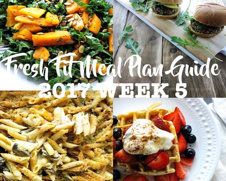 Fresh Fit Meal Plan Guide Week 5