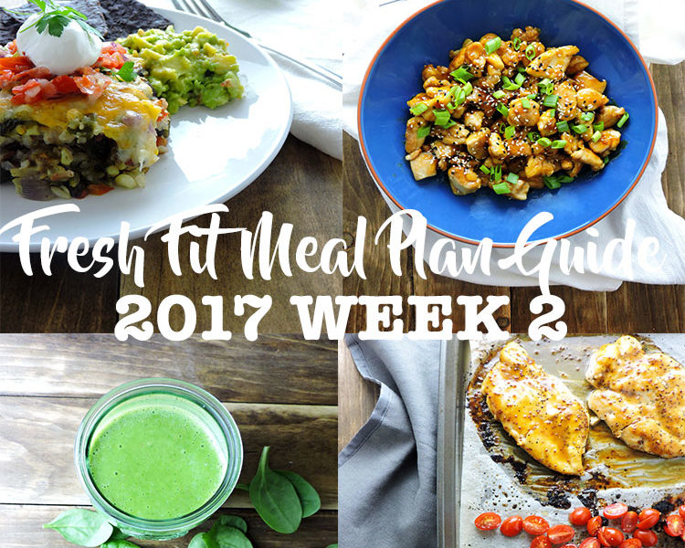 Fresh Fit Meal Plan Guide Week 2