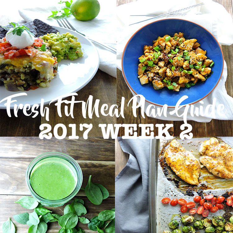 Fresh Fit Meal Plan Guide Week 2