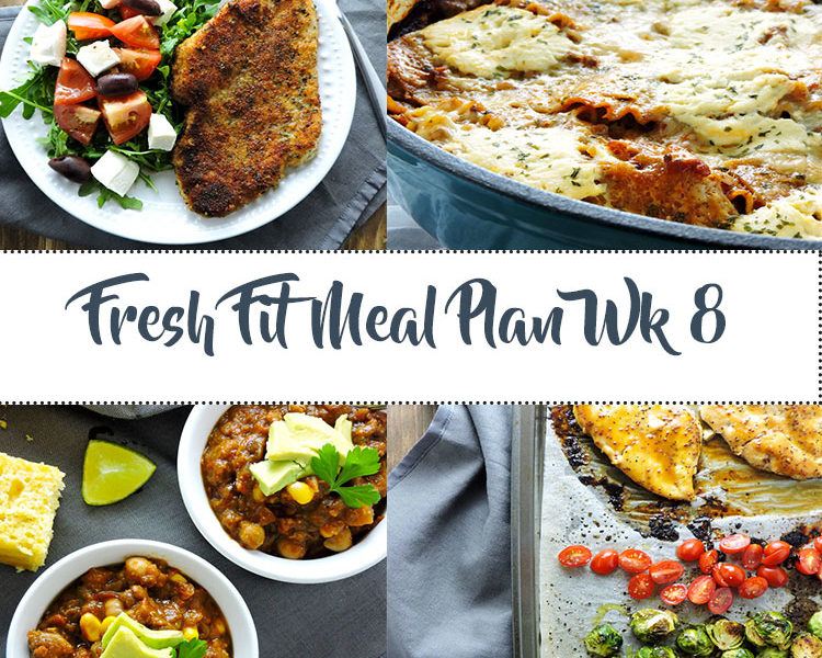 Fresh Fit Meal Plan Guide Week 8