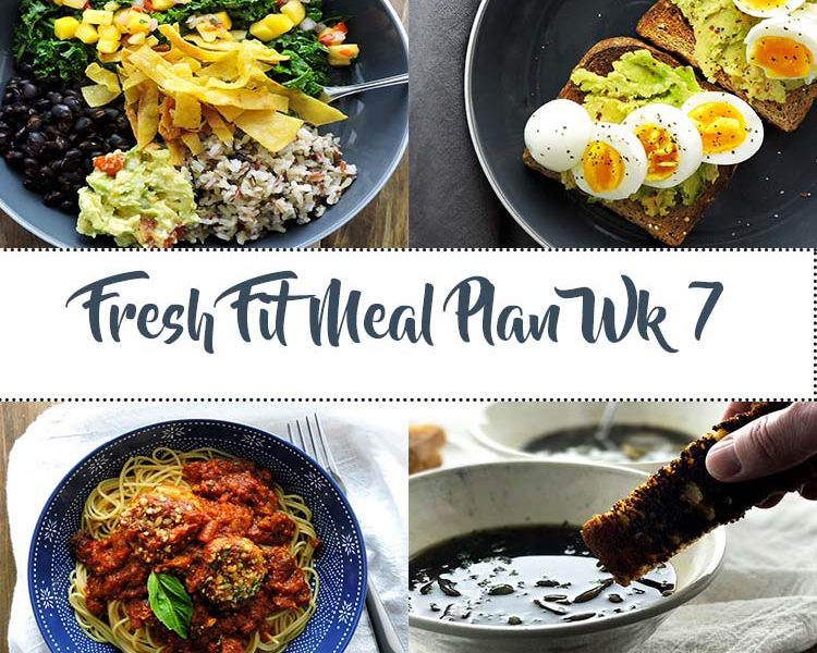Fresh Fit Meal Plan Guide Week 7