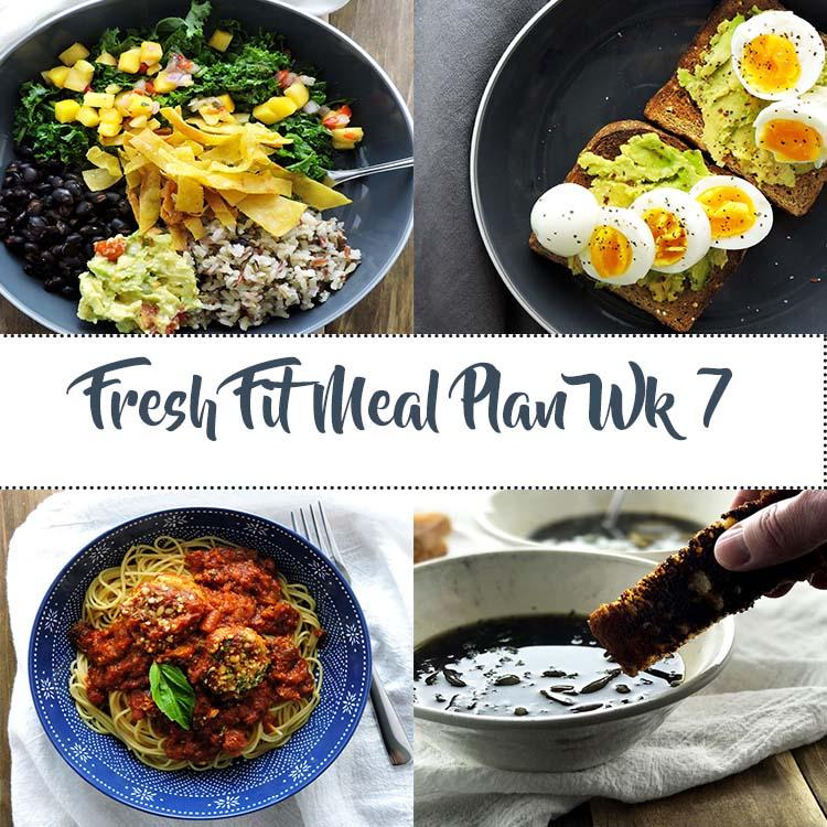 Fresh Fit Meal Plan Guide Week 7