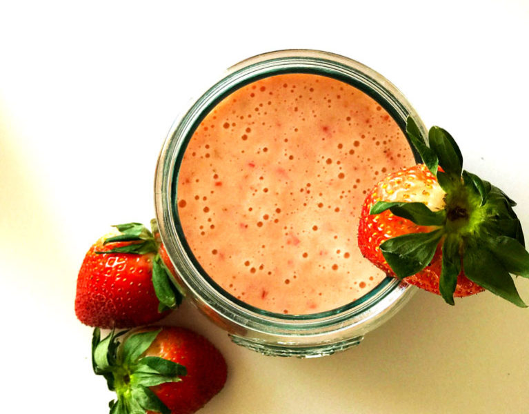 Strawberry Vitamin C Smoothie