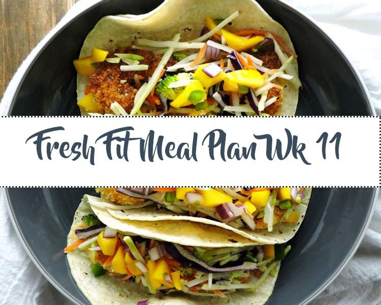 Fresh Fit Meal Plan Guide Week 11
