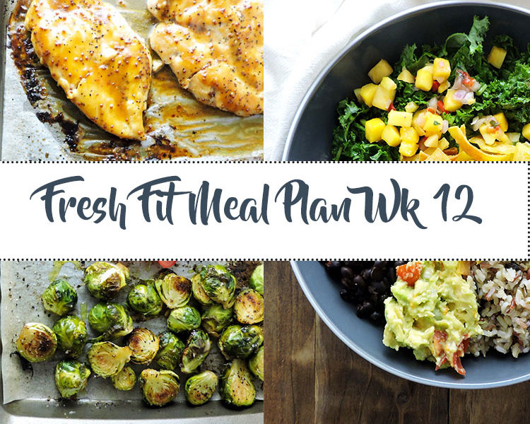 Fresh Fit Meal Plan Guide Week 12