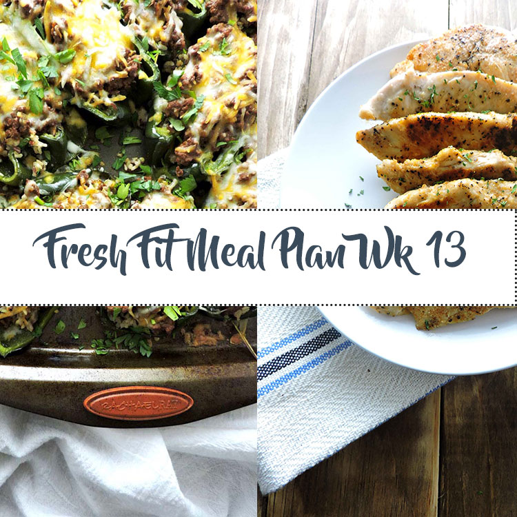 Fresh Fit Meal Plan Guide Week 13