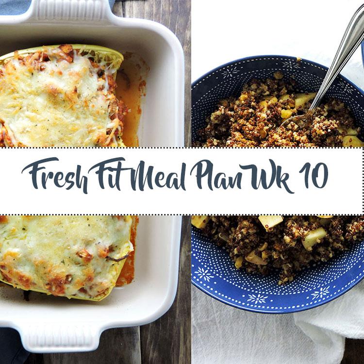 Fresh Fit Meal Plan Guide Week 10