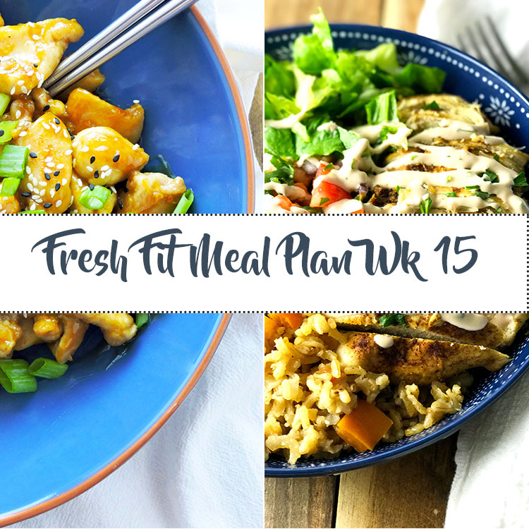 Fresh Fit Meal Plan Guide Week 15