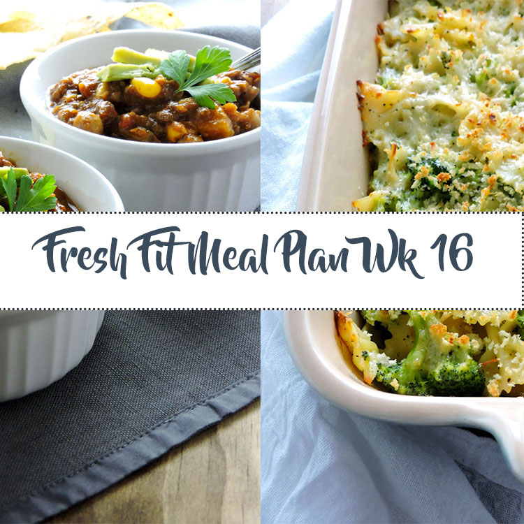 Fresh Fit Meal Plan Guide Week 16
