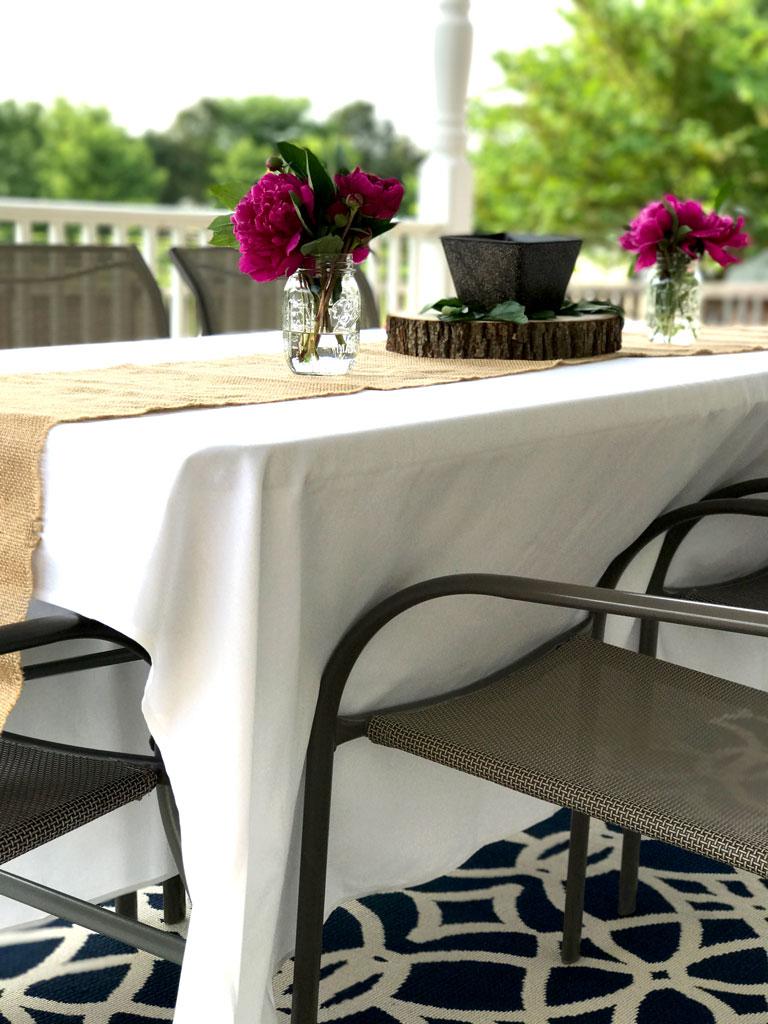 Easy Elegant Affordable Outdoor Dinner Parties