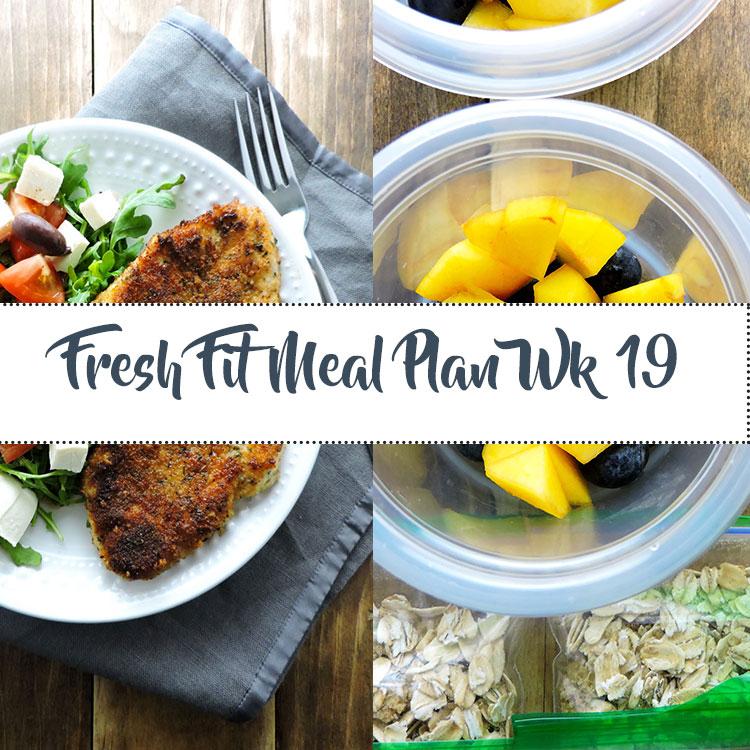 Fresh Fit Meal Plan Guide Week 19