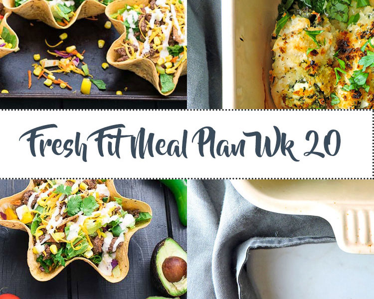 Fresh Fit Meal Plan Guide Week 20