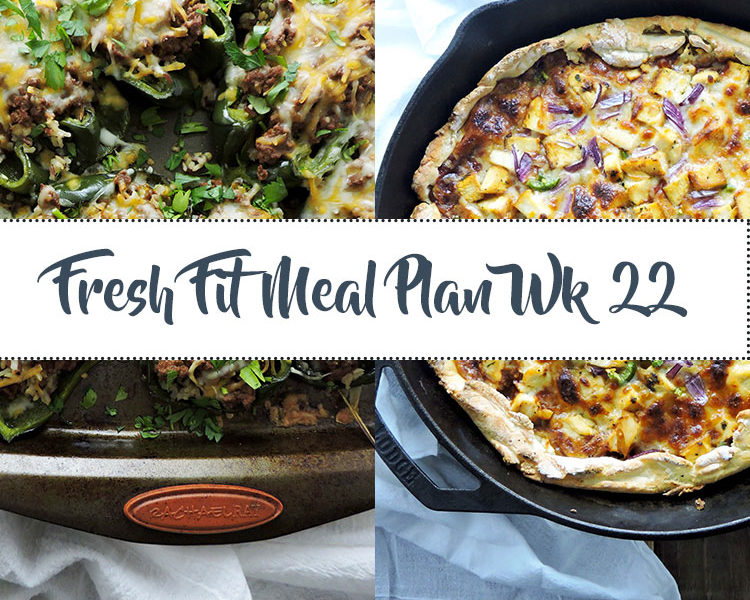 Fresh Fit Meal Plan Guide Week 22