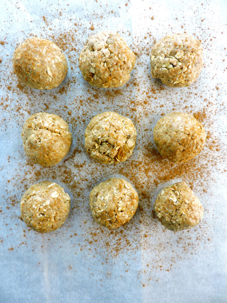 Oatmeal Cookie Energy Bites
