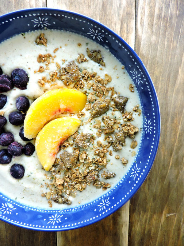 Peach Perfect Smoothie Superfood Bowl