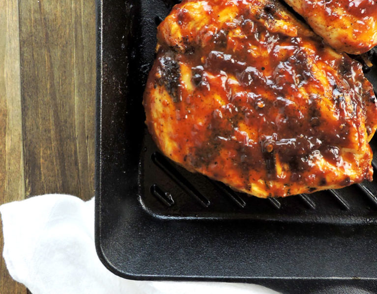 Spicy Chipotle Honey Barbecue Chicken