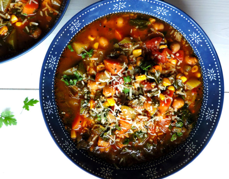 Summer Vegetable Minestrone