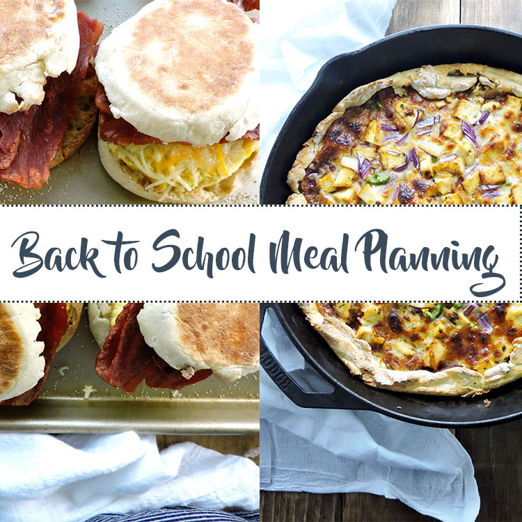 Back to School Meal Planning Guide