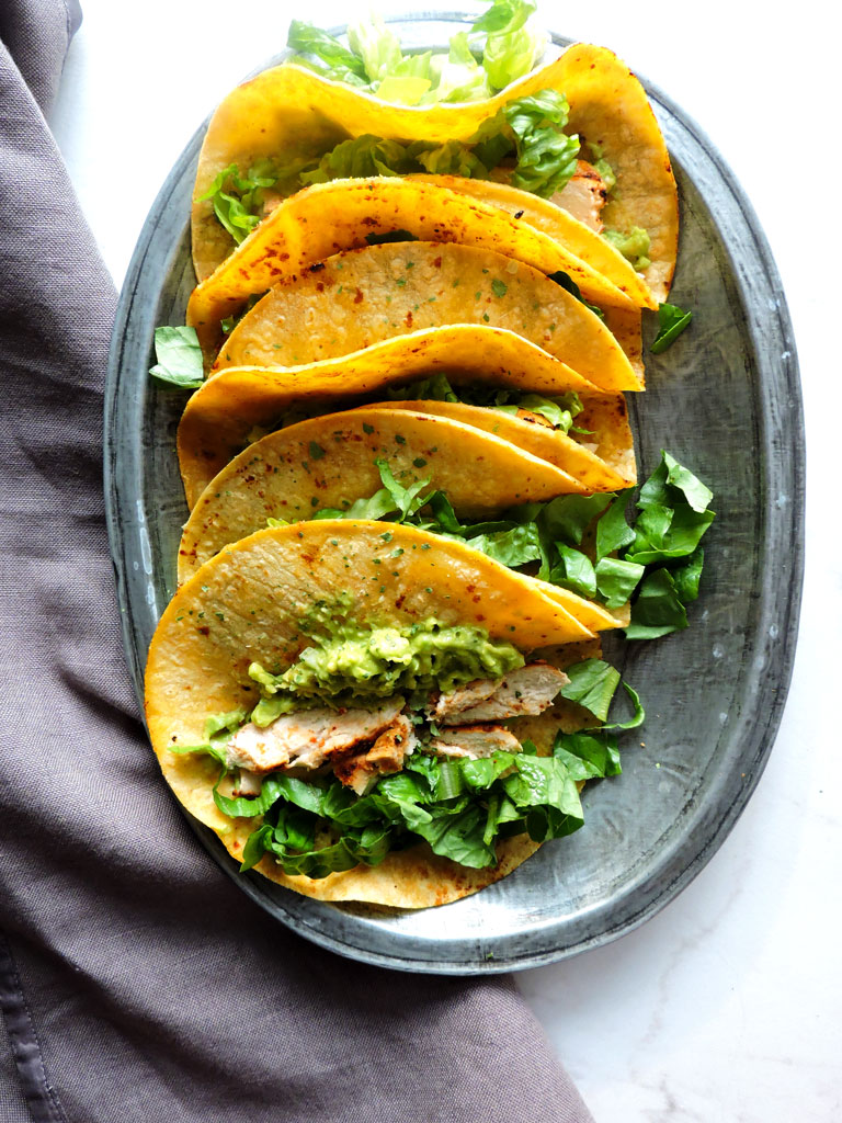 Chili Lime Chicken Street Tacos Fresh Fit Kitchen