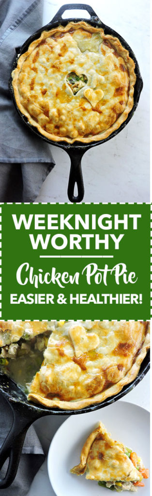 Weeknight Worthy Chicken Pot Pie
