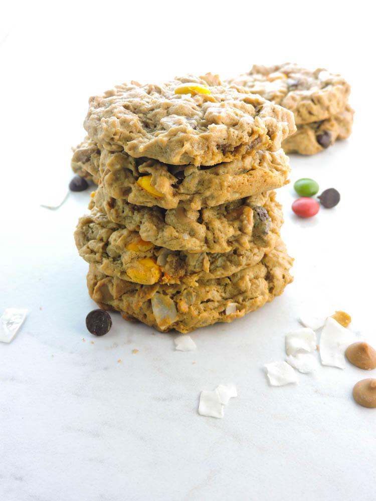 Loaded Peanut Butter Cookies