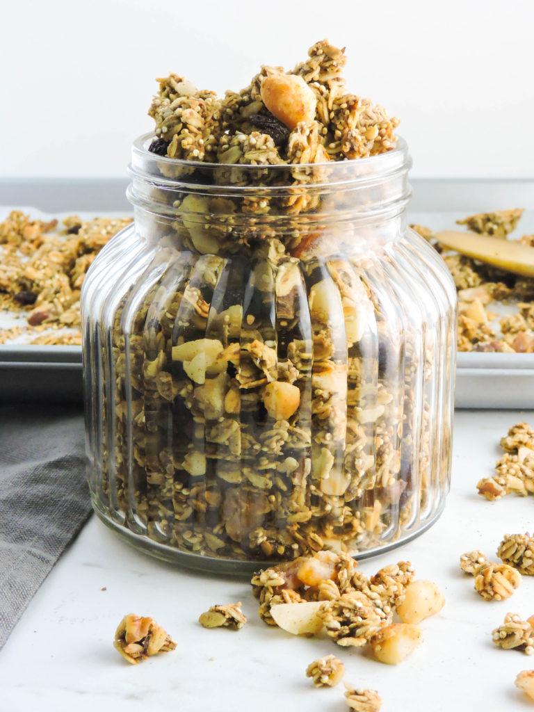 Refined Sugar Free Super Seed Granola