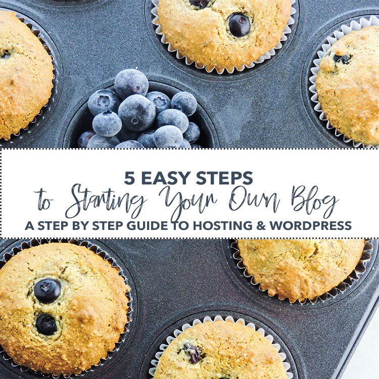 5 Easy Steps to Starting Your Own Food Blog